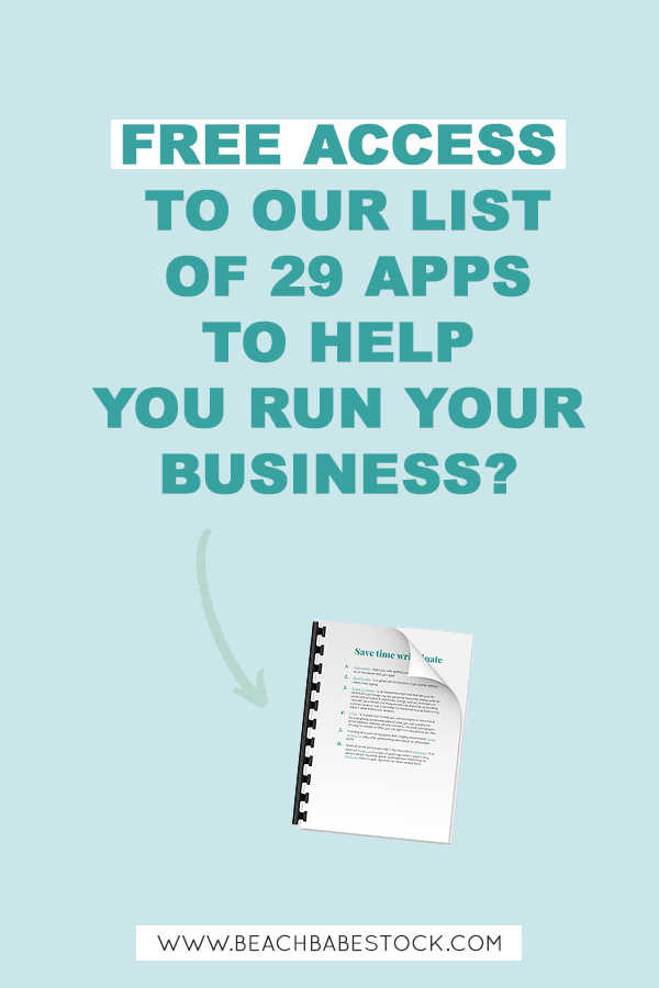 Free access to our list of 29 apps to help you run your business.