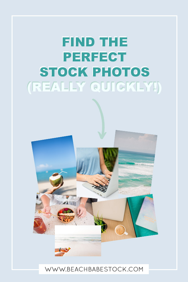 How to (quickly) find the perfect stock photos for your business. Feel like you waste time searching for stock photos? These tips will help you save so much time!