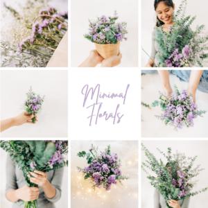Minimal florals